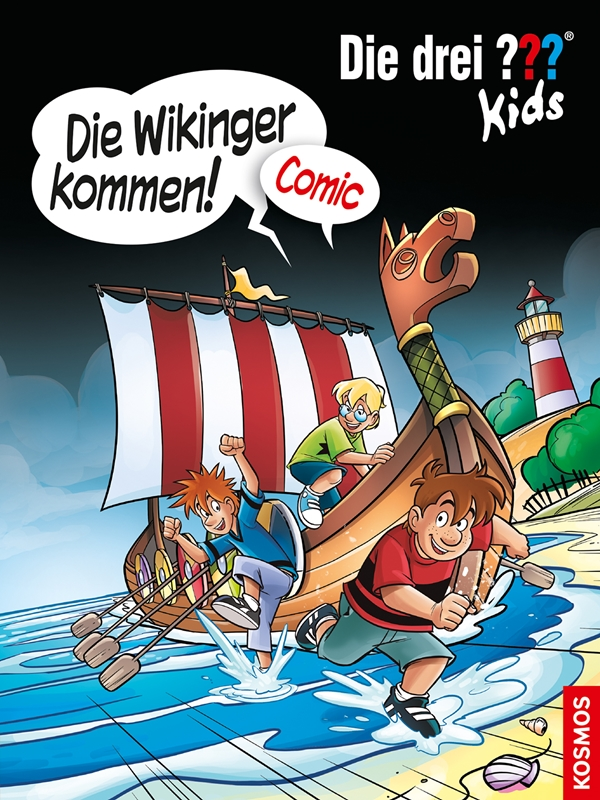 """Die drei ??? Kids - """"Die Wikinger kommen!""""- Comic"""