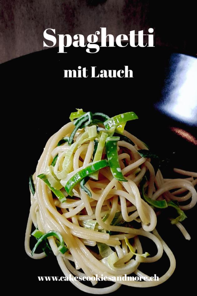 Saisongemüse Winter - Rezept für Spaghetti mit Lauch