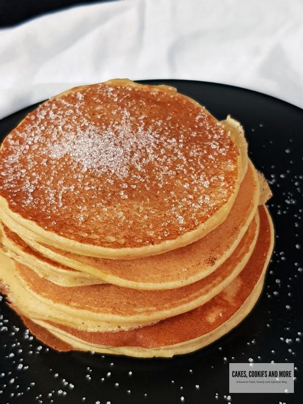 Apfelpancakes mit UrDinkel Mehl