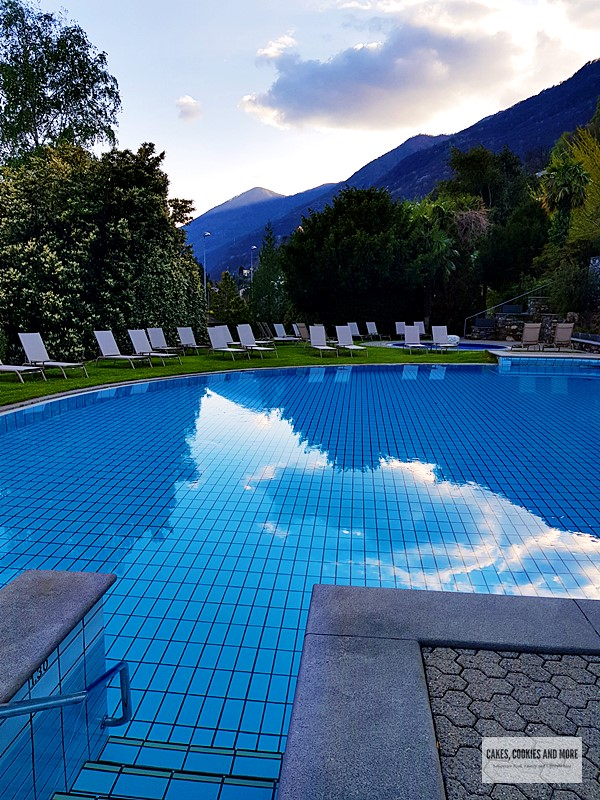 Pool im Parkhotel Brenscino