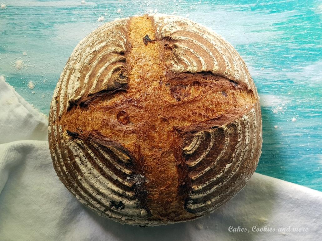 Speck Brot mit Käse