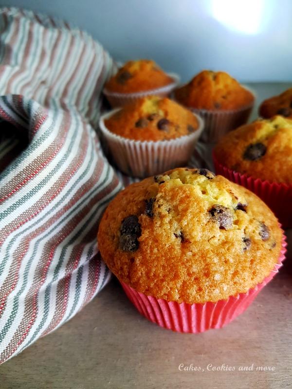 Rezept für Chocolate Chip Muffins