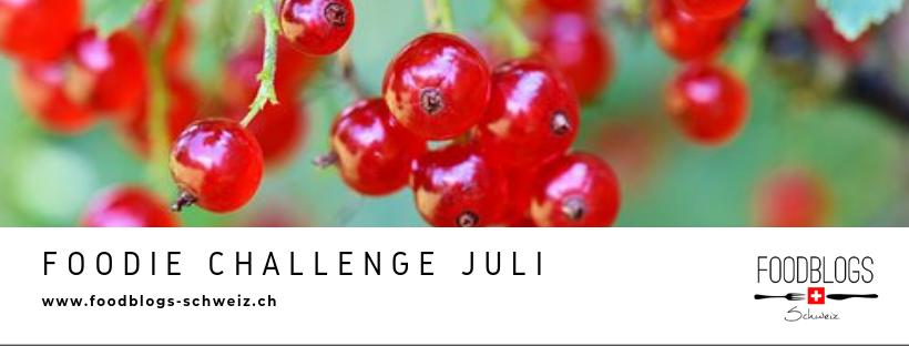Foodie Challenge Juli