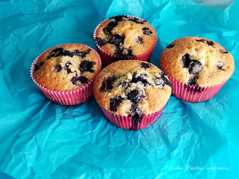 Rezept für Heidelbeer-Muffins