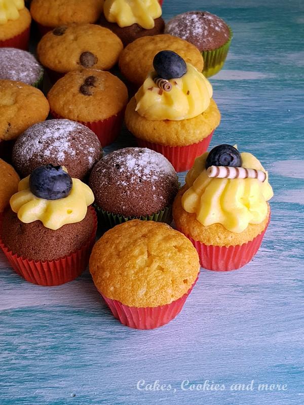 Mini Cupcakes und Muffins