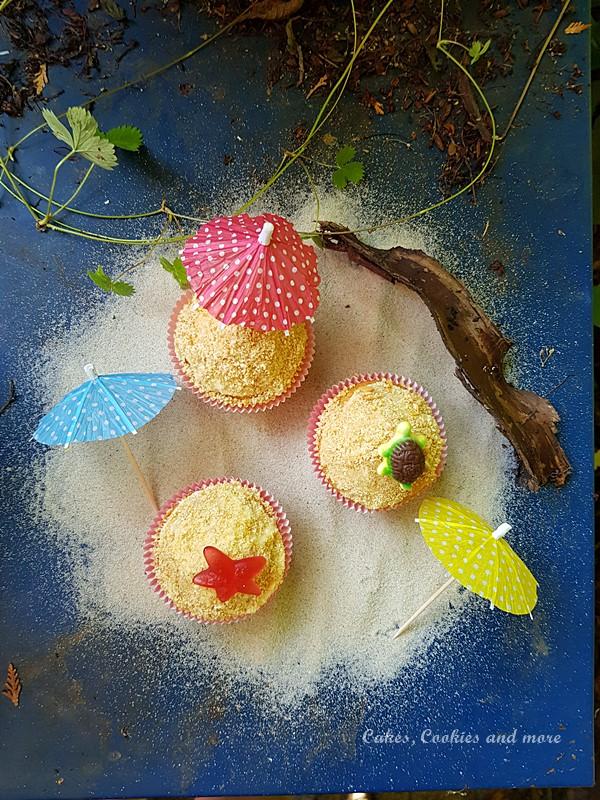 Strandcupcakes