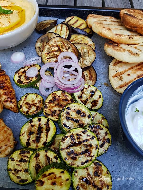 Zucchini und Aubergine vom Grill