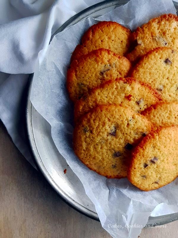 Rezept für knusprige Chocolate Chip Cookies