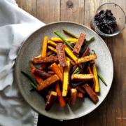 Herbstliches Ofengemüse mit Chutney