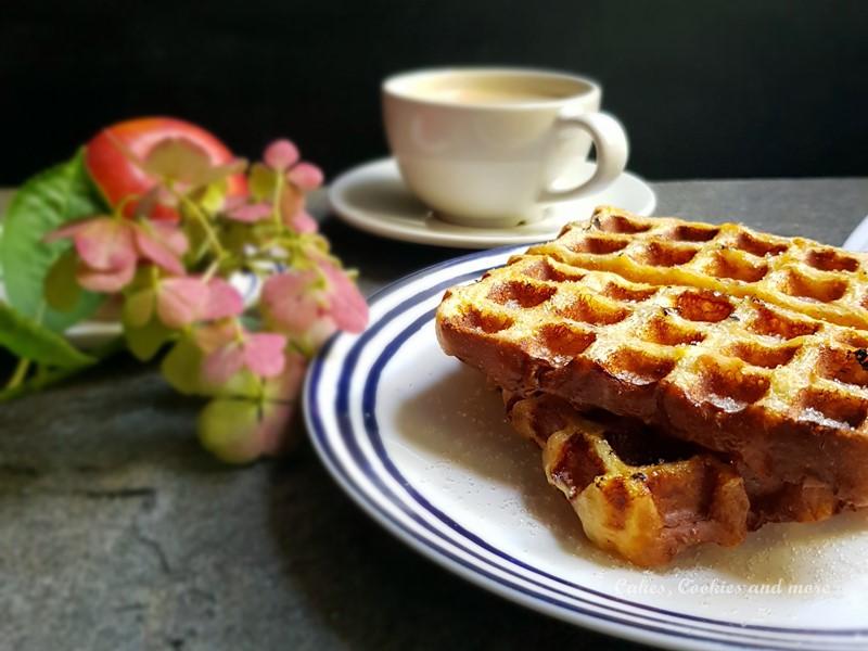 Rezept für French Toast Waffeln