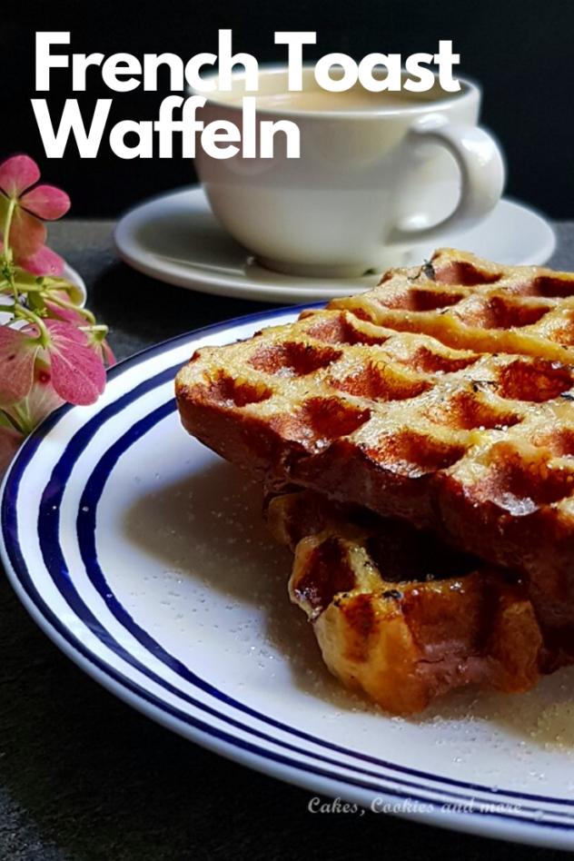 French Toast Waffeln - Rezept für Resteverwertung von Brot. Ein leckeres Frühstück.  #frühstück #frenchtoast #waffeln
