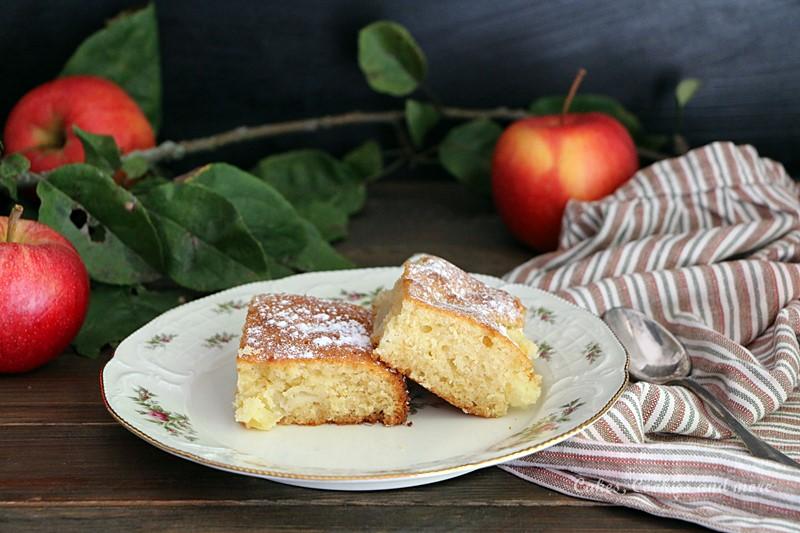 Honig-Apfelkuchen