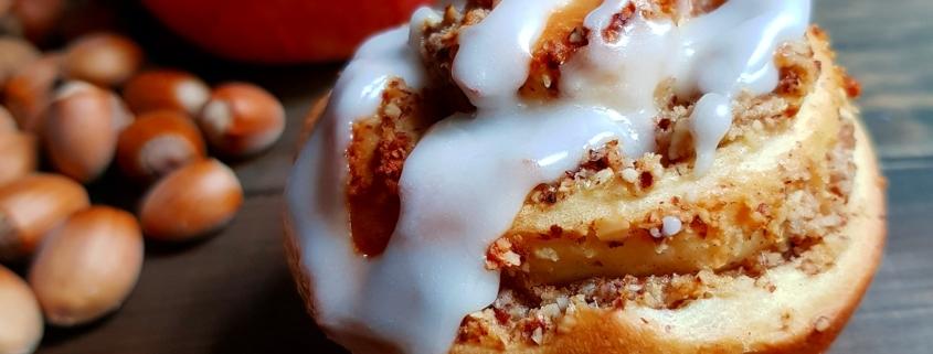 Apfel-Nussschnecken