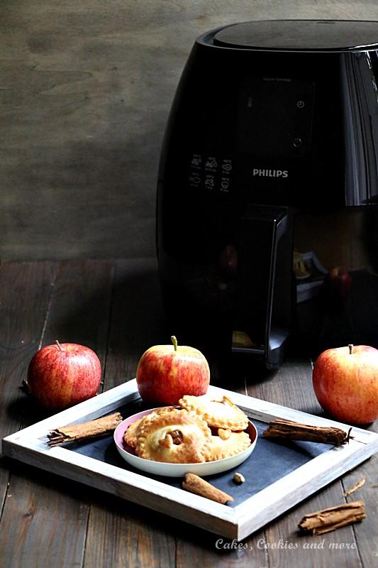 Weihnachtliche Mini Apfel Pies aus dem Airfryer von Philips