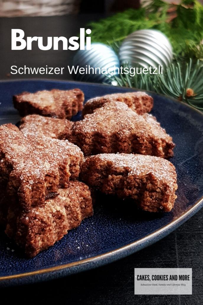 Schweizer Weihnachst-Guetzli - Rezept für Basler Brunsli