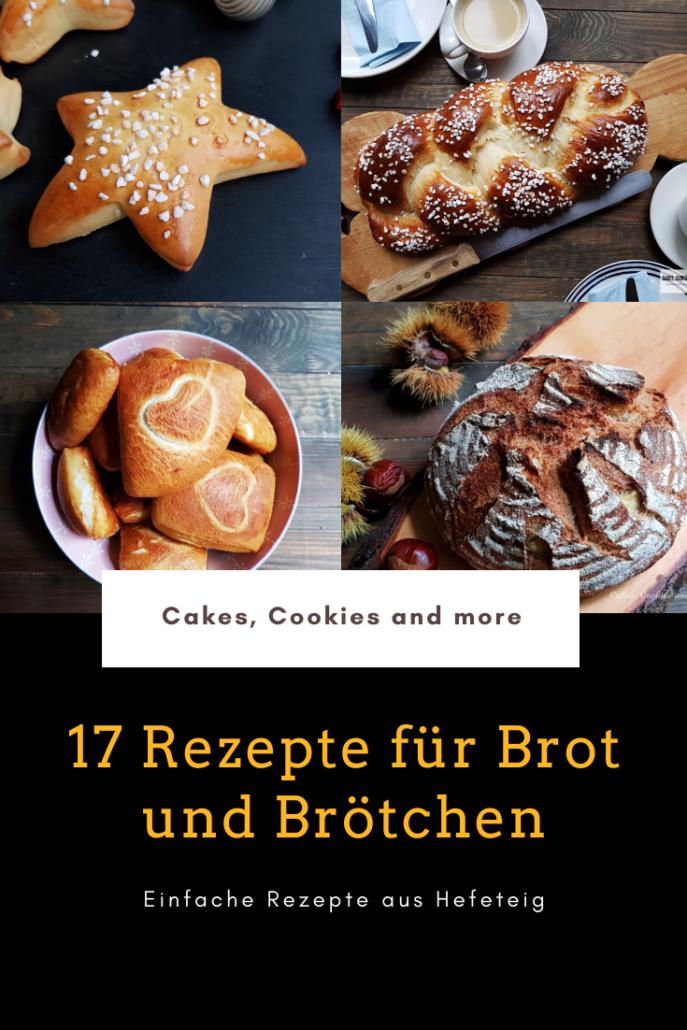 Rezeptesammlung für Brot und Brötchen
