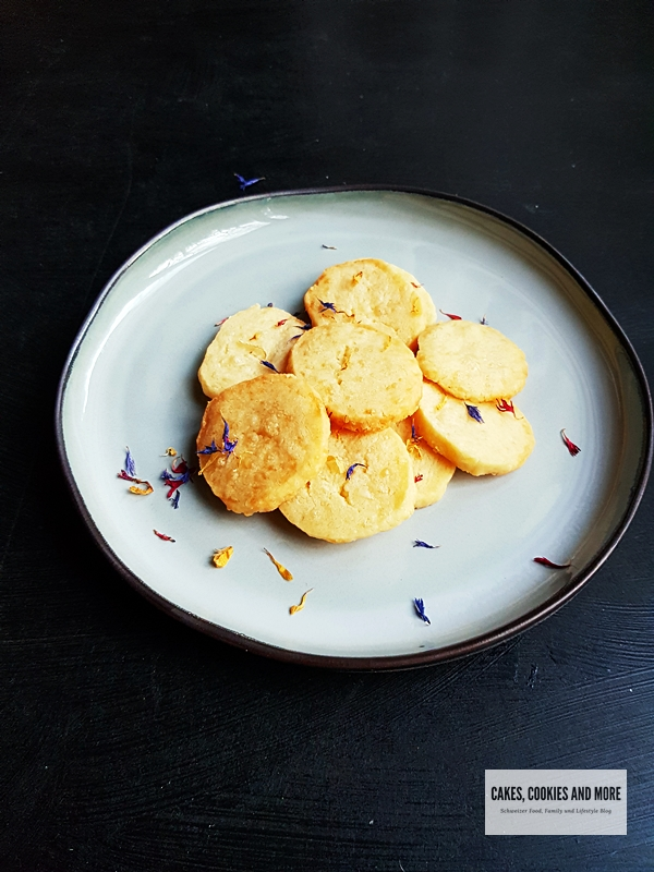 Rezept für Käse Sablés