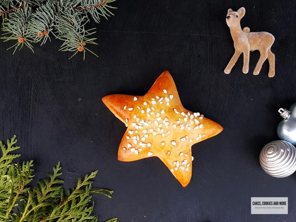 Süsse Brötchen-Sterne