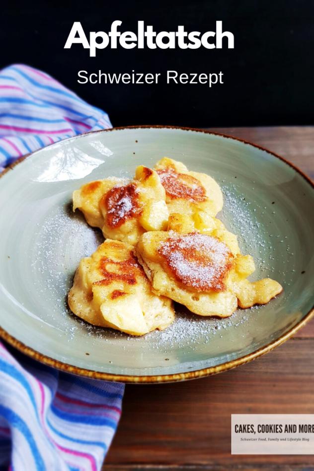 Schweizer Rezept für Apfeltatsch - Mehlspeise