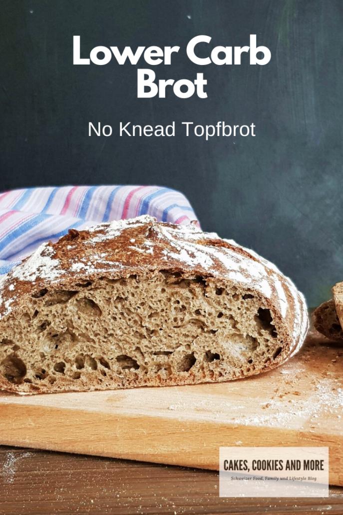 Lower Carb Brot aus dem Topf