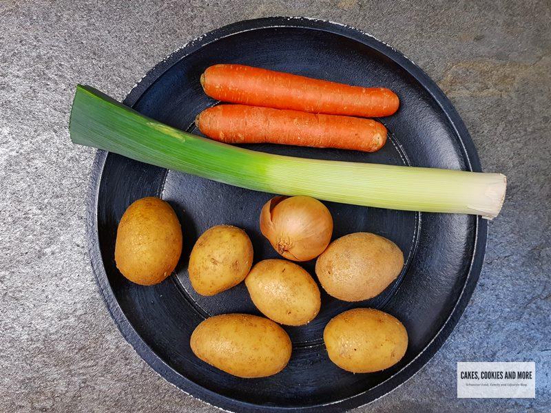 Kartoffelsuppe Emmentaler Art