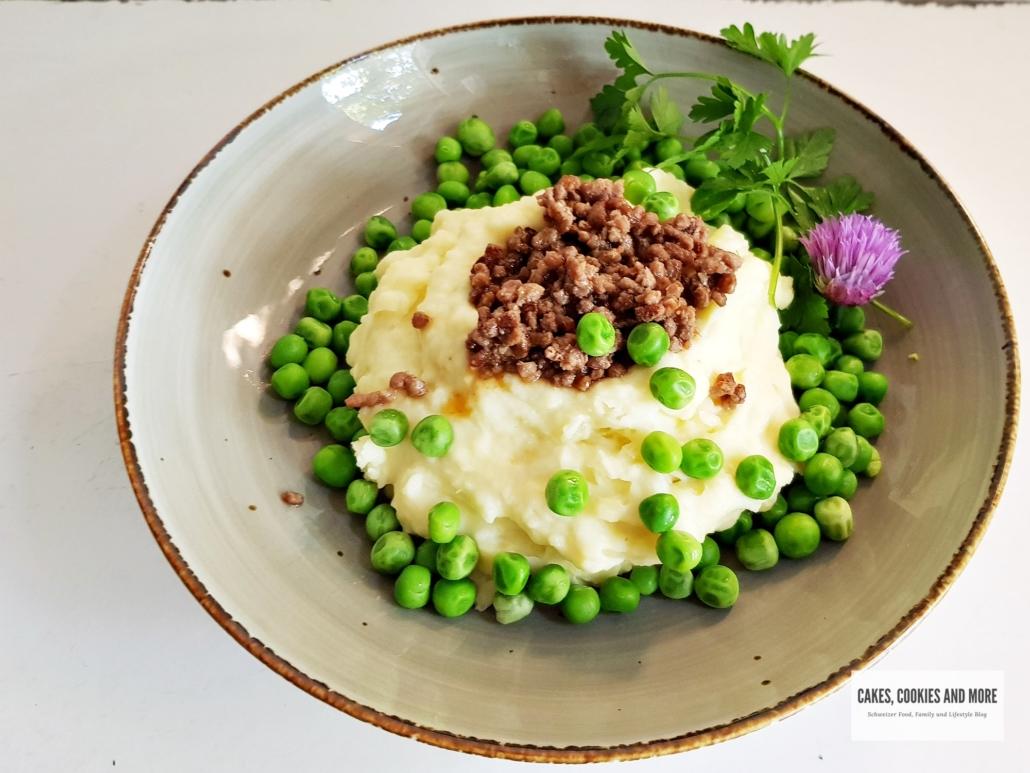 Kartoffelstock mit Hackfleisch