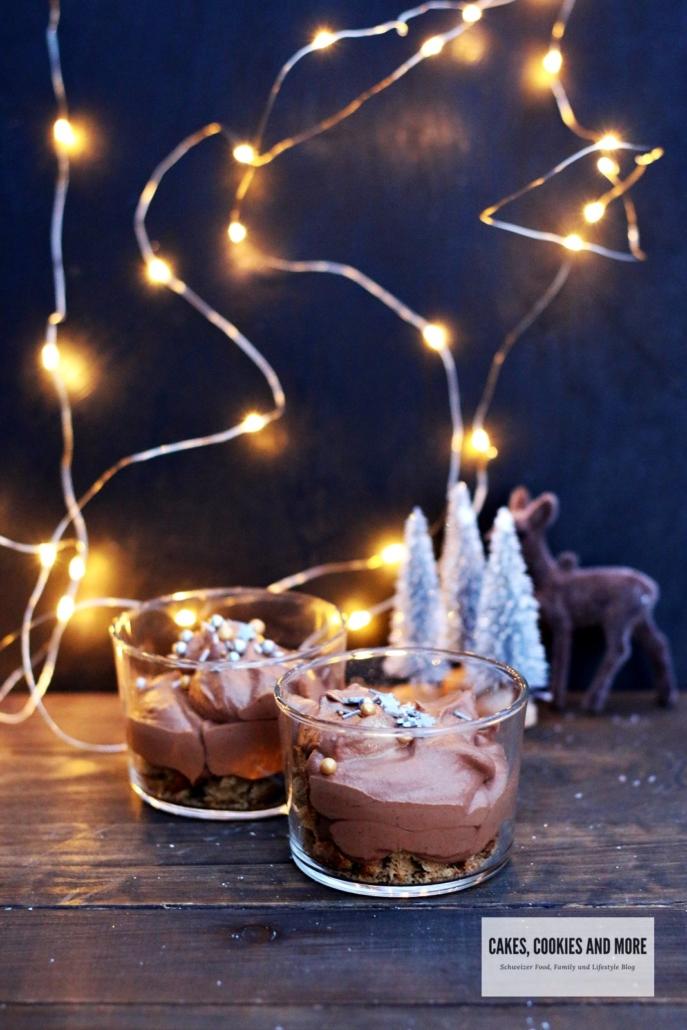 Lebkuchen Schokoladenmousse