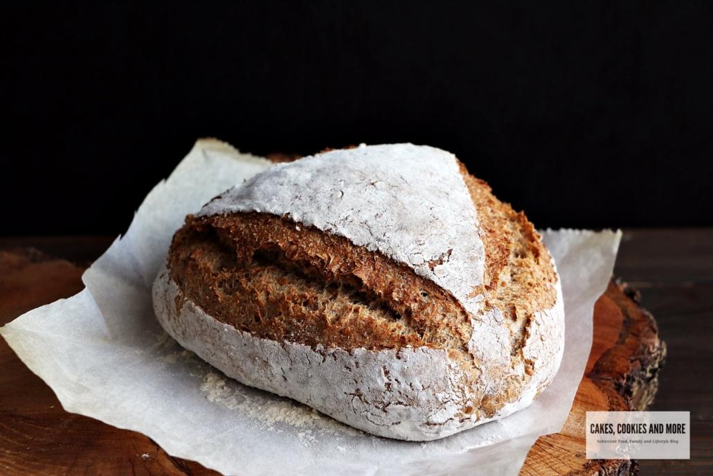 Superfood Brot mit Leinsamen und Sonnenblumenkernen