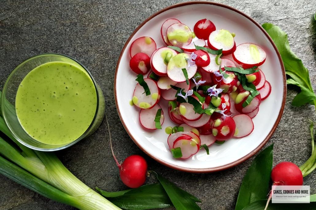 Radieschensalat mit Bärlauchvinaigrette