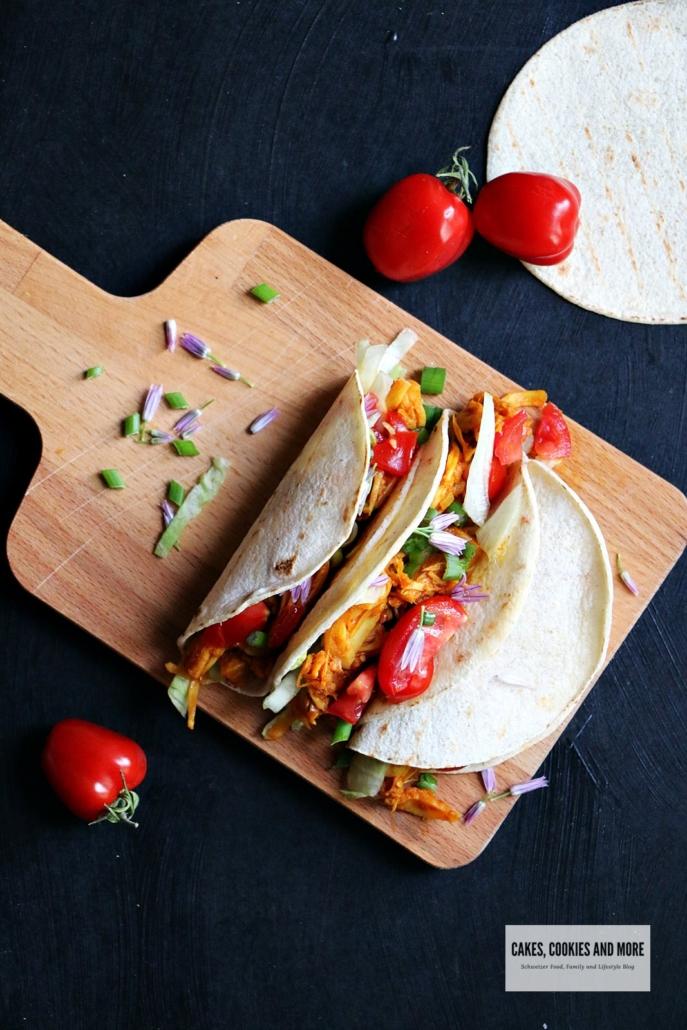 Vegane Jackfruit Tacos