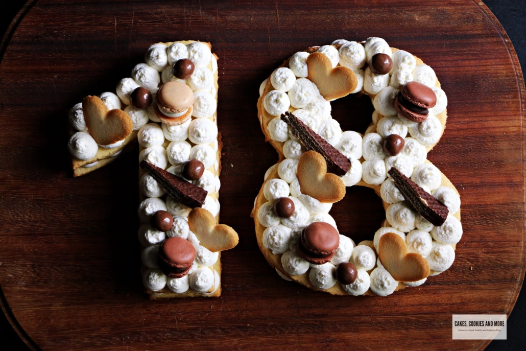Number Cake - Zahlentorte