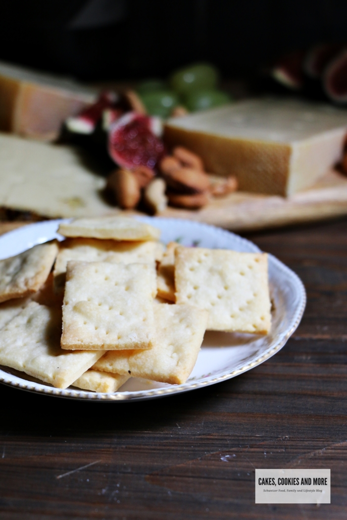 Selbst gemachte Butter Cracker